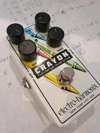 Electro Harmonix Crayon Overdrive Pedal