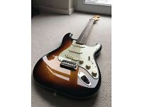 2012 Fender Classic Player 60s Stratocaster In Sunburst With Deluxe Gigbag