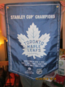 Toronto Maple Leaf/Molson Canadian Stanley Cup Banner