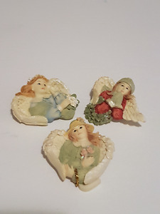 Betty Singer - Set of 3 Angel Brooches