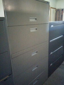 Used Global 5 drawer Lateral