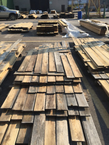 1x6 Tongue & Groove PILES -  LUMBER CLEAROUT