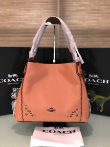 COACH Edie Shoulder Bag 31 With Prairie Rivets Detail 29733 Dark