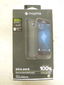 Mophie Juice Pack Samsung Galaxy S6 3, 300mAh-Black