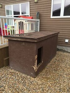 Insulated dog house must go