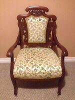 circa 1900s EASTLAKE antique chair