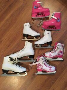Women's and girls' ice skates