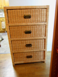 Natural rattan/wicker dresser from Indonesia