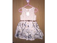 New NEXT 12-18 months girls dress