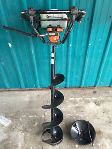 Ice Auger & Bits for sale
