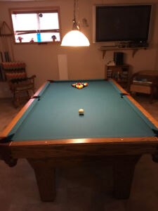 Pool Table hardly used