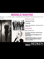 Become a model for the day with Redken Canada- Male & females