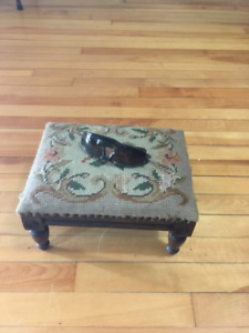 Antique Small Footstool