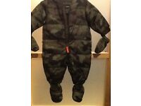 Baby camo Snow suit age 0-6 months