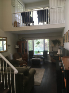 Unique 3 bedroom 2 storey home  Mississauga Available July 1
