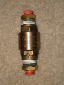 """Euroblock 3/8"""" 400 WOG DN 10 NSF61 approved one way check valve"""