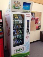 Max! Healthy Vending Machines for Sale