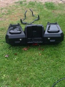 Kimpex atv seat a foot pegs