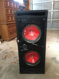 Sub Boom box - Sony Explode Speakers!