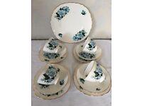 Vintage bone china Queen Anne tea set