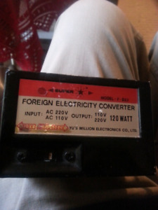 Foreign electrical converter