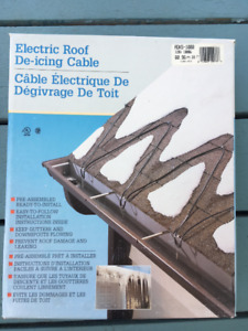 Easy Heat Electric Roof De-icing Cable  - 3 at 200 ft