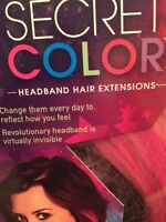 Brand New Secret Color Hair Extensions by Demi Lovato