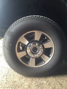 2015 F250 Rims and tires