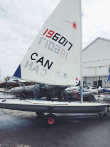 Laser Sailboat - Race condition