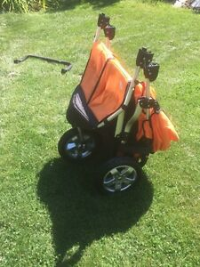 Tyke Tech CityX3 Double Stroller - 2013