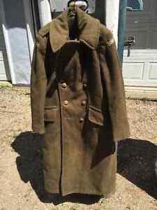 WWII Military Wool Coat & Knife Regina Regina Area image 1