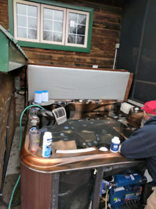 Professional Hot Tub Service and Repairs!