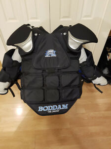 Box Lacrosse Goalie Chest Pad