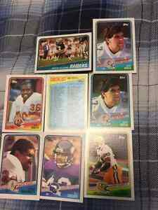 8 1988 Rookie Cards Plus 1 Checklist 133-264