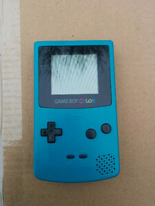 Teal Gameboy Color Good Condition