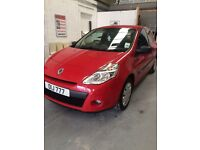 2009 Renault Clio 1.5 science. Low tax