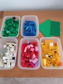 Few tubs of lego