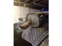 Corsa c sxi 2005 1.4 rear exhaust back box 07594145438