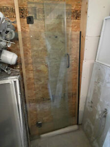 Plate Glass Shower for sale