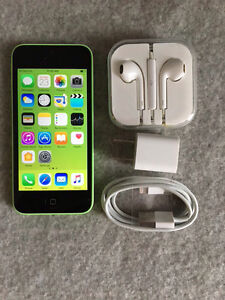 iPhone 5c - Green - 16G - Bell locked
