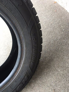 Winter Tires- set of 4 - only used half the winter