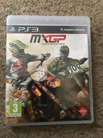 PS3 MXGP game