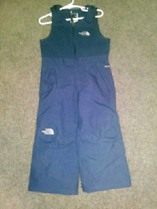 Toddler size 2T bib style THE NORTH FACE snowpants
