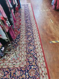 Traditional handmade Persian carpet