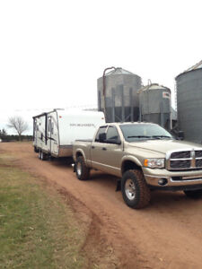 Trailer hauling (Frequent trips PEI to Halifax)
