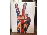The Who canvas