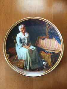 "Norman Rockwell ""Reminiscing in The"".. Collectable Plate"