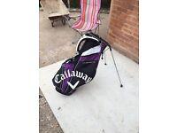 Self Carrie golf bag callaway