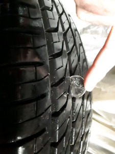 Winter tires with rims 225/60 R 17