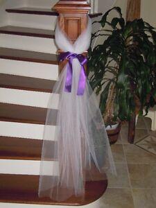 Wedding Decoration - tule